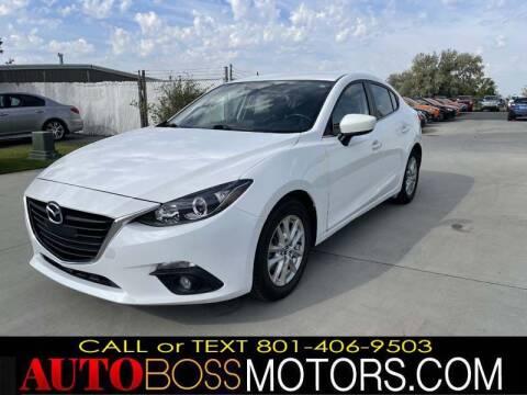 2015 Mazda MAZDA3 for sale at Auto Boss in Woods Cross UT