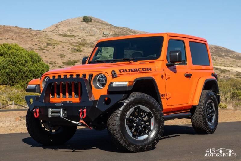 2018 Jeep Wrangler for sale at 415 Motorsports in San Rafael CA