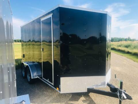 2022 Pace American 7x14 V-Nose Tandem Axle for sale at Forkey Auto & Trailer Sales in La Fargeville NY