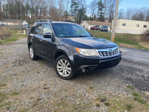 2013 Subaru Forester for sale at Deals On Wheels LLC in Saylorsburg PA
