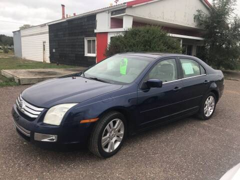 2006 Ford Fusion for sale at BLAESER AUTO LLC in Chippewa Falls WI