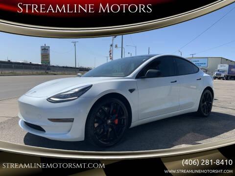 2019 Tesla Model 3 for sale at Streamline Motors in Billings MT