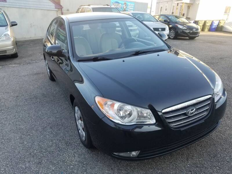 2008 Hyundai Elantra for sale at Fortier's Auto Sales & Svc in Fall River MA