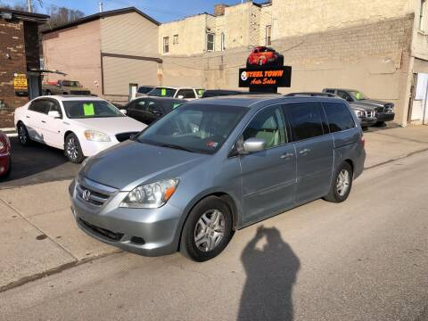 2005 Honda Odyssey for sale at STEEL TOWN PRE OWNED AUTO SALES in Weirton WV