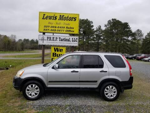 2005 Honda CR-V for sale at Lewis Motors LLC in Deridder LA