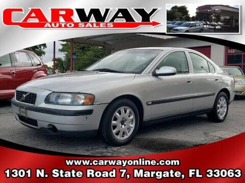 2001 Volvo S60 for sale at CARWAY Auto Sales in Margate FL