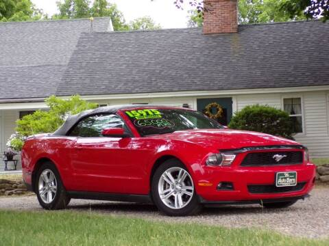 2010 Ford Mustang for sale at The Auto Barn in Berwick ME