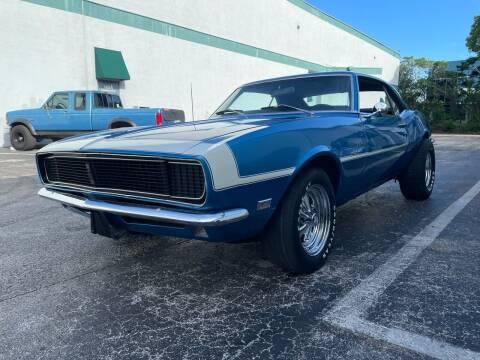 1968 Chevrolet Camaro for sale at American Classics Autotrader LLC in Pompano Beach FL