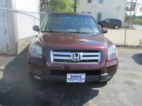 2007 Honda Pilot for sale at MERROW WHOLESALE AUTO in Manchester NH
