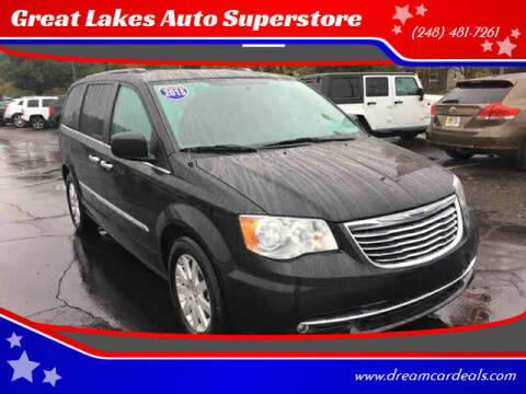 2015 Chrysler Town and Country for sale at Great Lakes Auto Superstore in Waterford Township MI