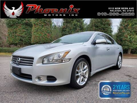 2010 Nissan Maxima for sale at Phoenix Motors Inc in Raleigh NC
