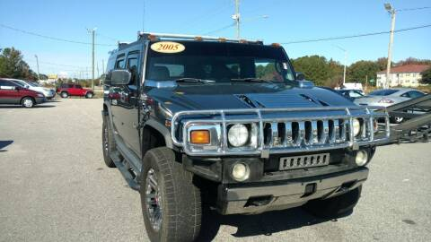 2005 HUMMER H2 for sale at Kelly & Kelly Supermarket of Cars in Fayetteville NC