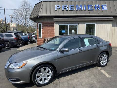 2013 Chrysler 200 for sale at Premiere Auto Sales in Washington PA
