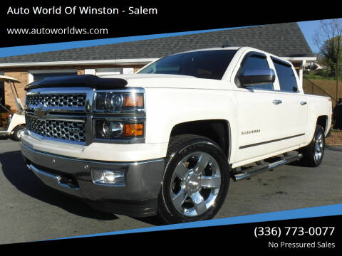 2015 Chevrolet Silverado 1500 for sale at Auto World Of Winston - Salem in Winston Salem NC