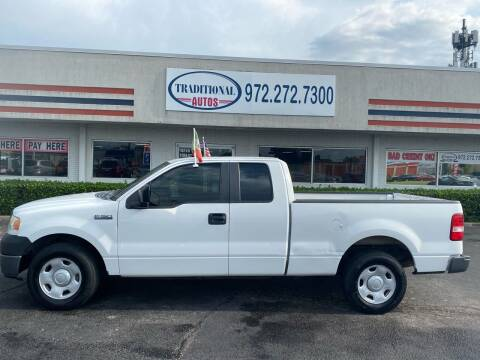 2008 Ford F-150 for sale at Traditional Autos in Dallas TX