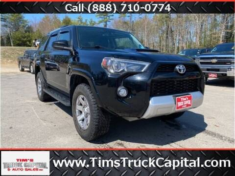 2014 Toyota 4Runner for sale at TTC AUTO OUTLET/TIM'S TRUCK CAPITAL & AUTO SALES INC ANNEX in Epsom NH