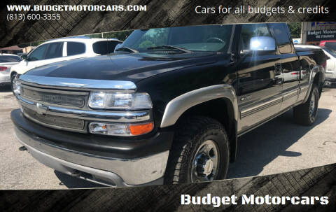 2000 Chevrolet Silverado 2500 for sale at Budget Motorcars in Tampa FL