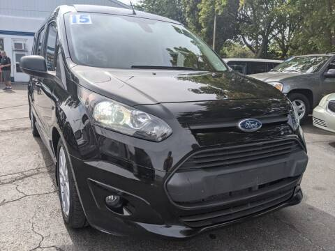 2015 Ford Transit Connect Wagon for sale at GREAT DEALS ON WHEELS in Michigan City IN
