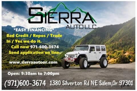 2004 Chevrolet TrailBlazer EXT for sale at SIERRA AUTO LLC in Salem OR