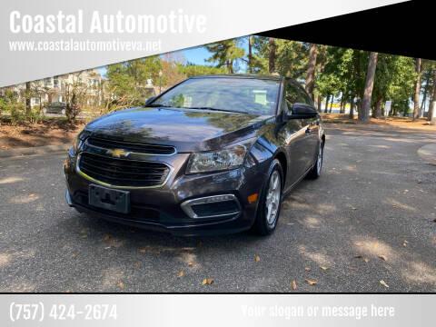 2015 Chevrolet Cruze for sale at Coastal Automotive in Virginia Beach VA