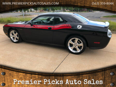 2012 Dodge Challenger for sale at Premier Picks Auto Sales in Bettendorf IA