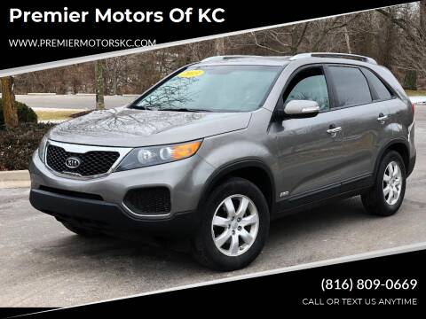 2013 Kia Sorento for sale at Premier Motors of KC in Kansas City MO