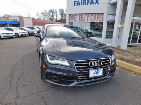 2012 Audi A7 for sale at AP Fairfax in Fairfax VA