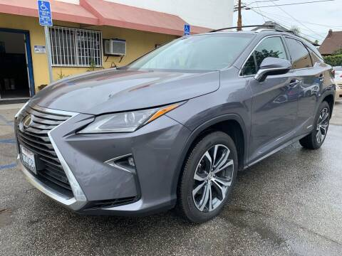 2017 Lexus RX 450h for sale at Auto Ave in Los Angeles CA