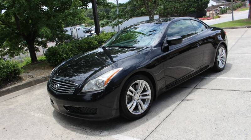 2009 Infiniti G37 Convertible for sale at NORCROSS MOTORSPORTS in Norcross GA