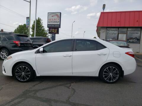 2016 Toyota Corolla for sale at Select Auto Group in Wyoming MI