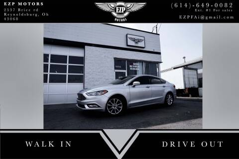 2017 Ford Fusion for sale at EZP Motors in Reynoldsburg OH