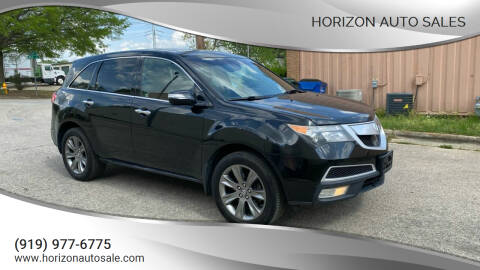 2011 Acura MDX for sale at Horizon Auto Sales in Raleigh NC