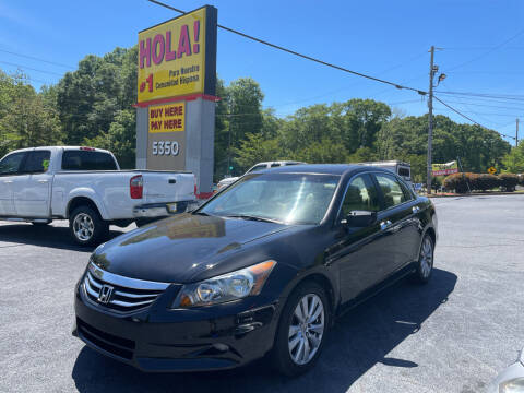 2011 Honda Accord for sale at No Full Coverage Auto Sales in Austell GA