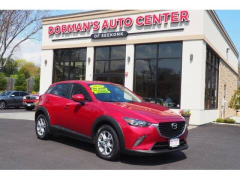 2016 Mazda CX-3 for sale at DORMANS AUTO CENTER OF SEEKONK in Seekonk MA