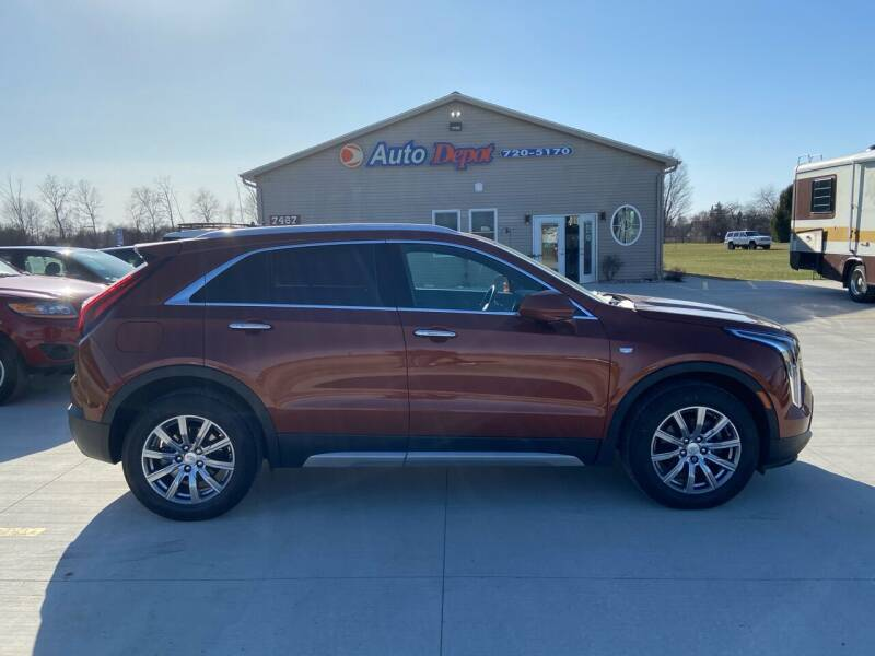 2019 Cadillac XT4 for sale at The Auto Depot in Mount Morris MI
