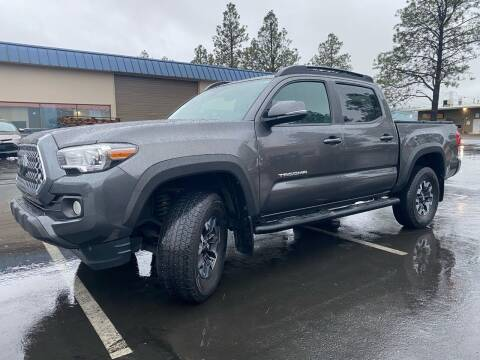 2018 Toyota Tacoma for sale at Exelon Auto Sales in Auburn WA
