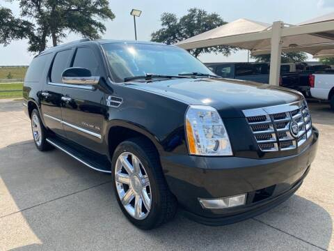 2012 Cadillac Escalade ESV for sale at Thornhill Motor Company in Hudson Oaks, TX