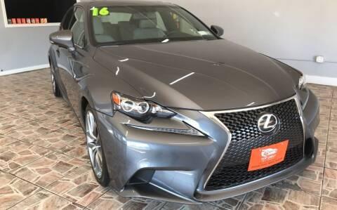 2016 Lexus IS 300 for sale at TOP SHELF AUTOMOTIVE in Newark NJ