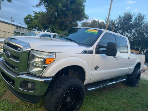 2013 Ford F-250 Super Duty for sale at DAN'S DEALS ON WHEELS in Davie FL