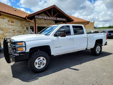 2016 Chevrolet Silverado 2500HD for sale at Performance Motors Killeen Second Chance in Killeen TX