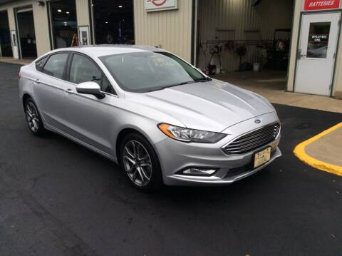 2017 Ford Fusion for sale at TRI-STATE AUTO OUTLET CORP in Hokah MN