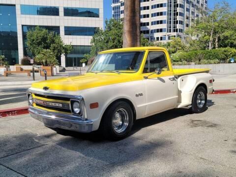 1970 Chevrolet C10 Shortbed Stepside for sale at Vintage Car Collector in Glendale CA