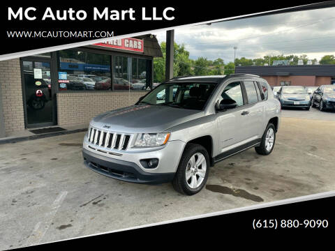 2013 Jeep Compass for sale at MC Auto Mart LLC in Hermitage TN