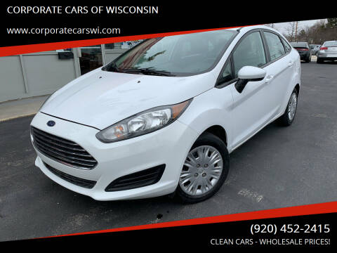 2015 Ford Fiesta for sale at CORPORATE CARS OF WISCONSIN in Sheboygan WI