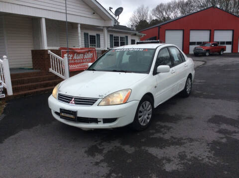 2006 Mitsubishi Lancer for sale at Ace Auto Sales - $600 DOWN PAYMENTS in Fyffe AL