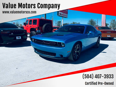 2015 Dodge Challenger for sale at Value Motors Company in Marrero LA
