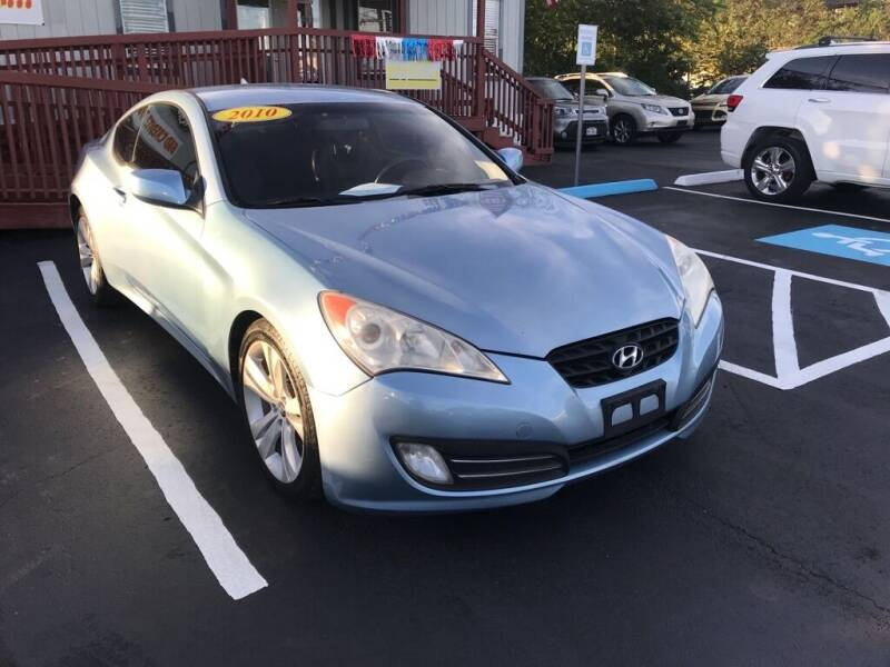 2010 Hyundai Genesis Coupe for sale at Auto Solution in San Antonio TX