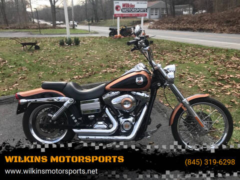 2008 Harley-Davidson Dyna Wide Glide for sale at WILKINS MOTORSPORTS in Brewster NY