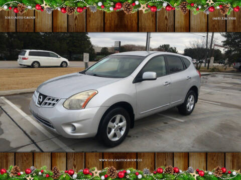 2013 Nissan Rogue for sale at Solo Auto Group in Mckinney TX