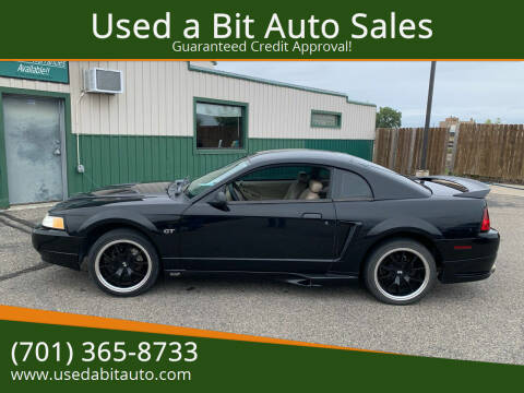 2000 Ford Mustang for sale at Used a Bit Auto Sales in Fargo ND